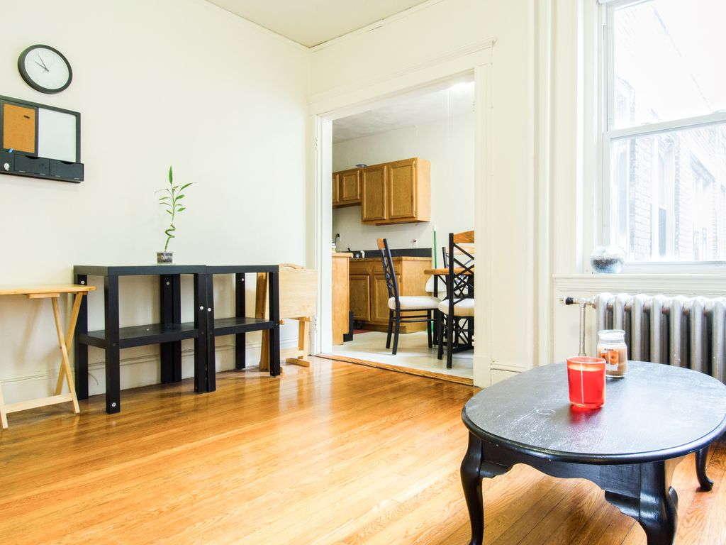 Boston apartment rental beautiful 1 bedroom apartment for Wood floors in the new apartment