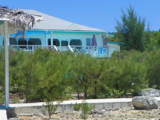 Palmetto Point house photo - view of house from reef