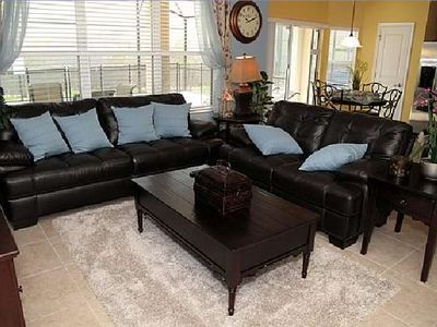 Windsor Hills house rental - Family Room with Large Screen TV/DVD Wireless