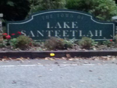 Welcome to the town of Lake Santeetlah