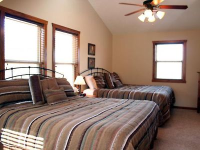 2 King Beds in Each Upstairs Bedroom