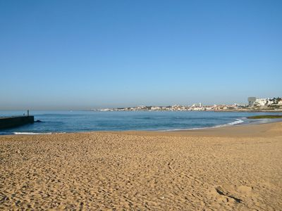 Estoril beach, late February