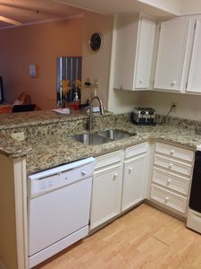 New for 2013 - Granite, Refinished Cabinets and new sink.