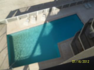 Gulf Shores condo photo - View of the pool from the balcony
