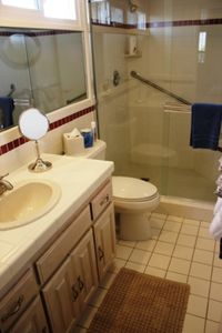 Private Master Bedroom Bathroom with spacious shower