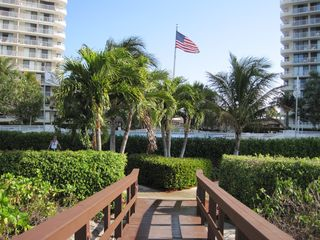South Seas Club condo photo - View from the boardwalk of South Seas manicured grounds