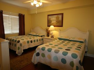 Bahia Vista I Ocean City condo photo - Second Bedroom with Two Full Size Beds
