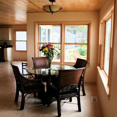 Mackinaw City house photo - Breakfast Nook