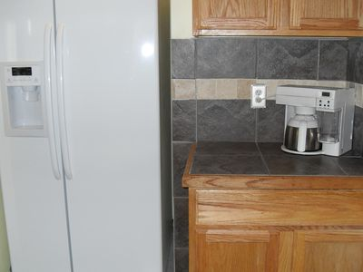 All new appliances. Frig has ice maker & water dispenser.