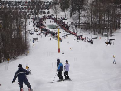 "Downhill start for the ""Slush Cup"" in March"