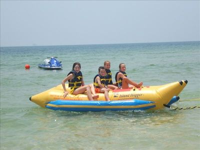BANANA BOAT/WAVE RUNNER - RENTALS