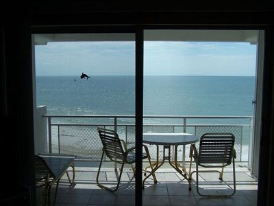 Relax right on the beach from the privacy of your own balcony. (photo: 6th fl.)