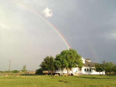 Your retreat awaits at the end of the rainbow...