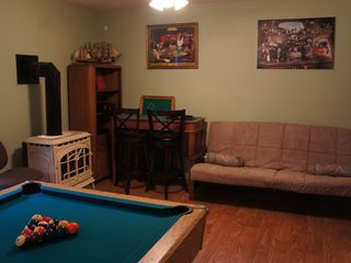 Long Pond house photo - Brand new game room with 7FT pool table, darts, 42 inch TV and a casino table!