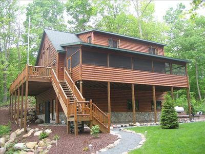 Northern traditions deer hollow vrbo for Vrbo wisconsin cabins