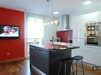 """Friendly Rentals The Miramar Apartment in San Sebastian - Click on the """"Book Now"""" button to calculate the exact price."""