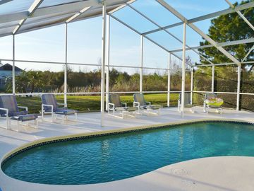 Ashley Manor villa rental - Fabulous lakeside pool and sunny deck