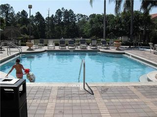 Emerald Island house photo - community heated pool in the winter