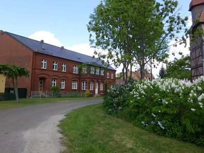Comfort apartment for 2 pers. + Child in a reorganized monument with Vierseitenhof