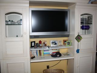 Hollywood condo photo - Bedroom TV Taken from Queen size Bed