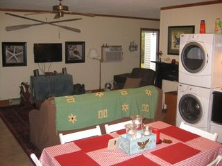 Oak Island house photo - The living area