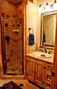 Guest bathroom on main level.