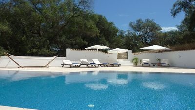 Stunning, light, airy, stylish with private pool-VILLA LINAKIS in Arillas, Corfu