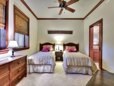 """Kohala"" Bedroom - These beds are comfortable! And they can convert to a King!"