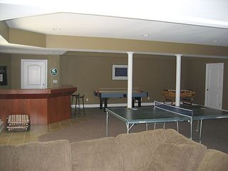 Grand Beach house photo - Gameroom - pool table, ping pong, air hockey, foosball, bar