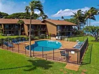 Lahaina condo photo - Refreshing Pool with plenty of lounge chairs