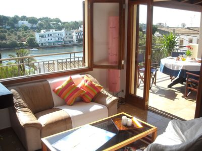 2 bed appartament, village location, nice terrace with seaview.