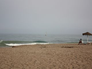 Fuengirola apartment photo - Local Beach.
