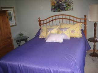 Lake Leelanau house photo - Bedroom with Queen Size Bed