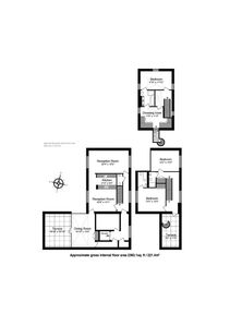 Floor Plan of The Penthouse 3 Floors