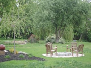 Lancaster house photo - Backyard Firepit