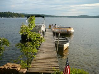 Lake Winnisquam cottage photo - dock