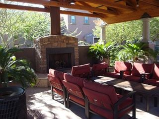 Phoenix townhome photo - Firepit