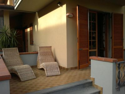 Apartment for 6 persons (possibility +1) only 500 meters from the sandy beach.