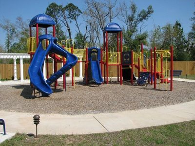 Biloxi condo rental - New Playground, next to 2nd Pool.