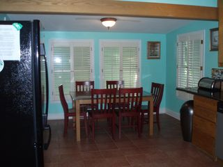 Folly Beach house photo - FLAMINGO SUITE'S DINING FOR SIX