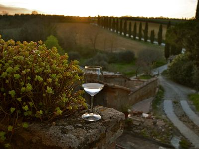 Francesca apartment in Medieval country village near San Gimignano and Volterra