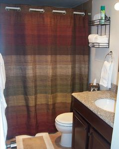 Guest bathroom. Just updated!
