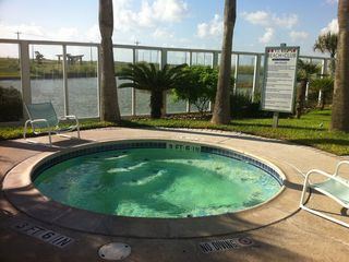 North Padre Island condo photo - Relax in the hot tub