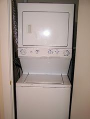 Hampton Beach townhome photo - Washer & dryer on first floor