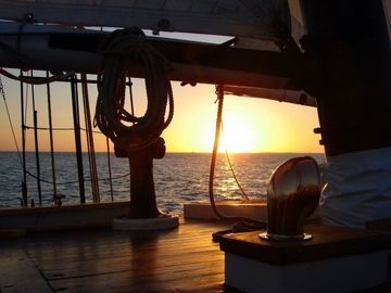 Ahoy Matey! Enjoy a Pirate's view of beautiful Sunsets... Visit the Lost Colony