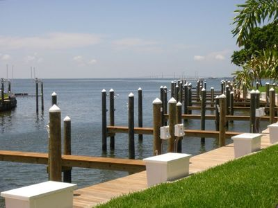 St Petersburg condo rental - Beautiful view from your waterfront condo