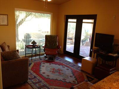 View the outside from within and see what Tucson living is all about.