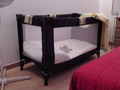 Child's cot available