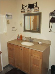 Stroudsburg cottage rental - Newly renovated bathroom