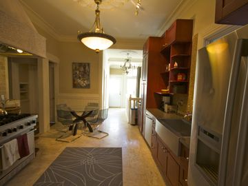 Another view of the high end kitchen